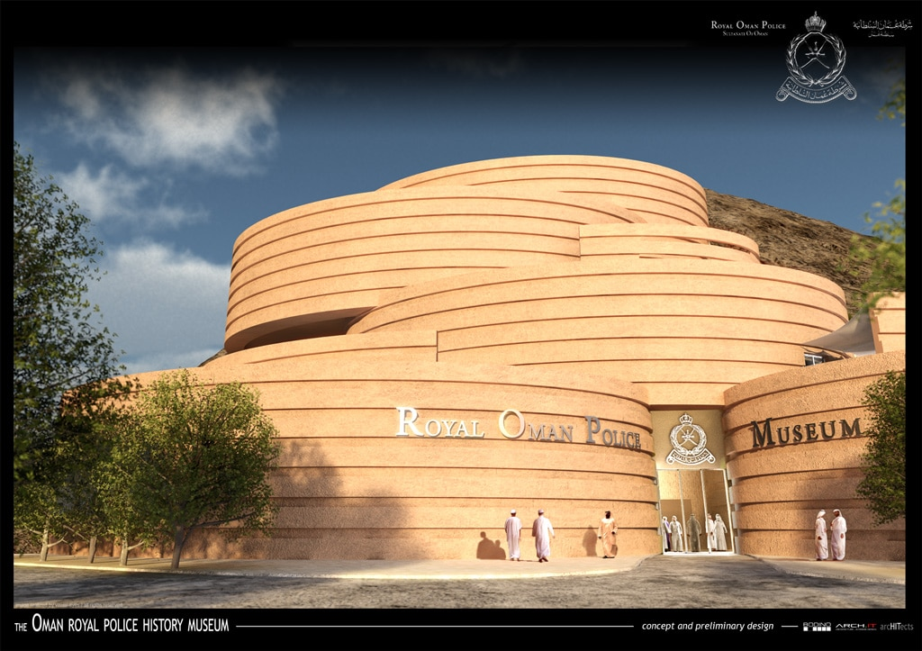Concept for the Royal Oman Police Museum « arcHITects srl