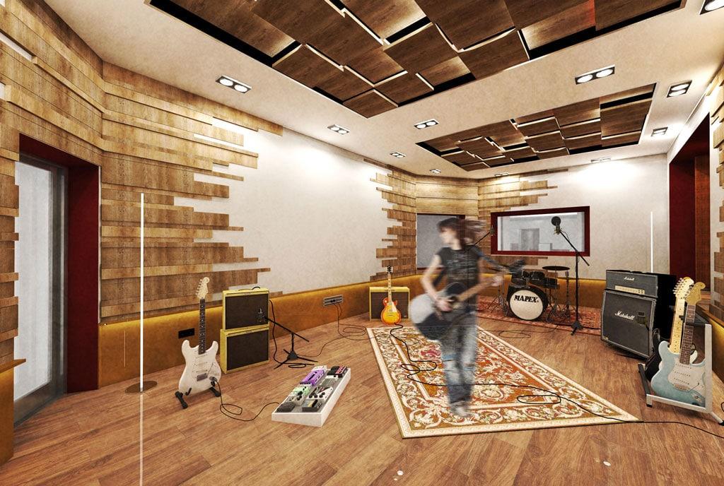sugar recording studio architects srl