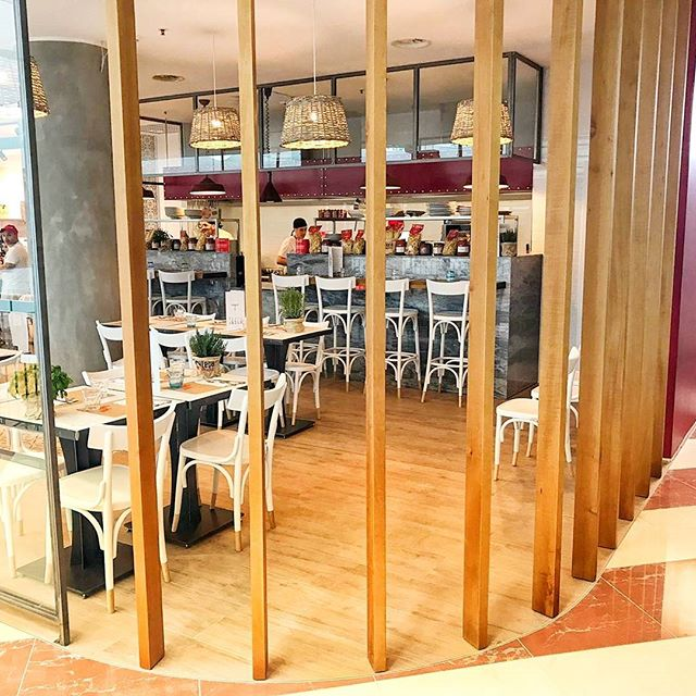 Project details, food court by