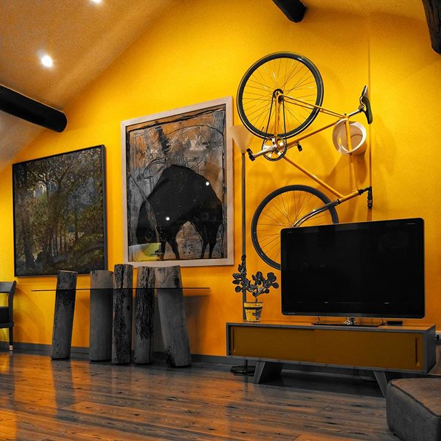 Yellow design + filter