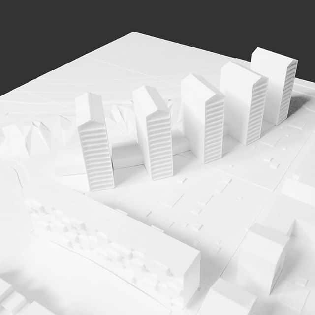 Maquette new development