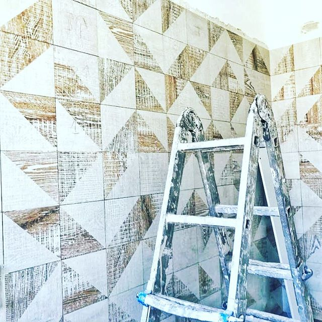 Custom pattern tiles @ceramicafioranese