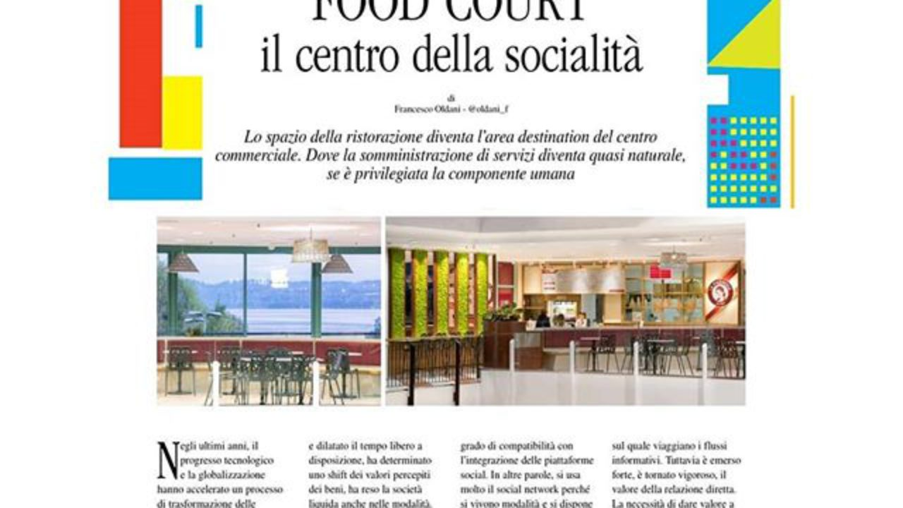 Foodcourt 4 0 the new Mall's login « arcHITects srl