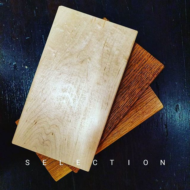Selection, wood love